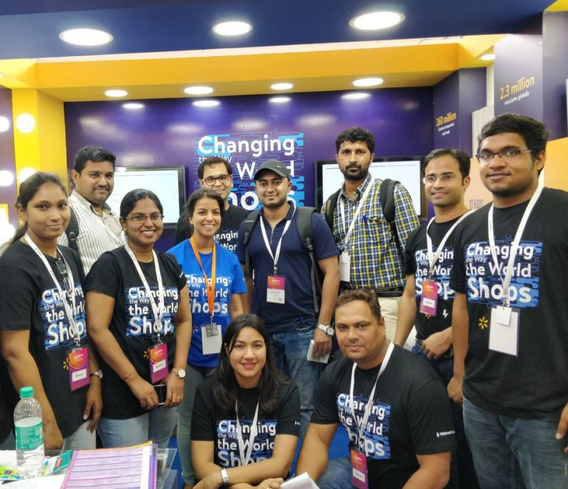 Our team at The Great Indian Developer Summit 2018