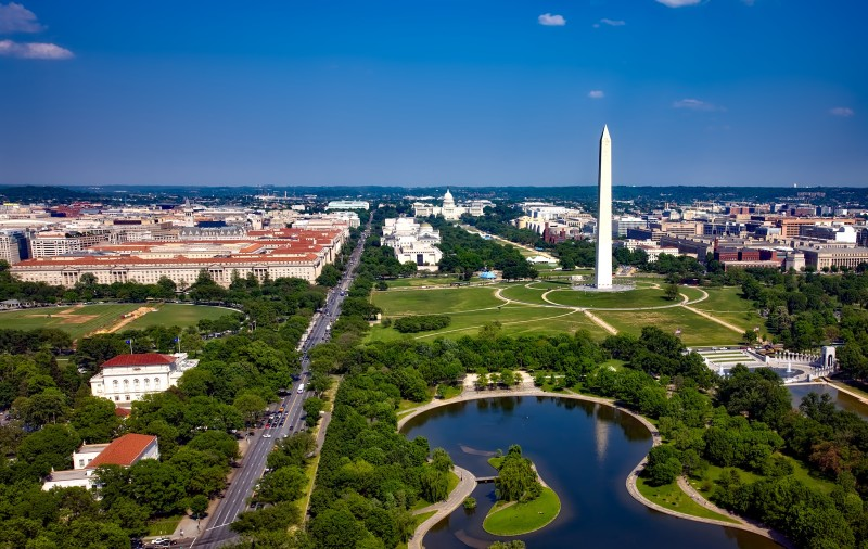 The National Mall and Memorial Parks in Washington D.C.