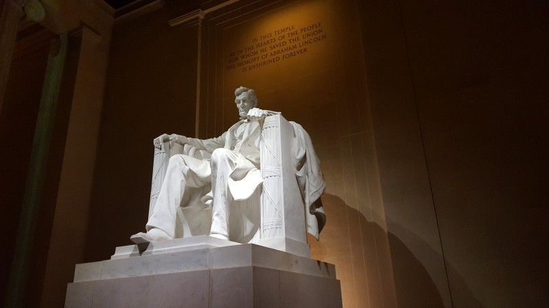 Photo of the Lincoln Memorial in Washington D.C.
